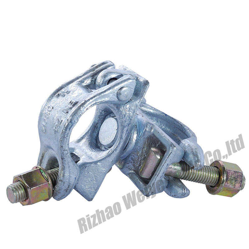Forged swivel coupler EN74-1BB Zinc plated