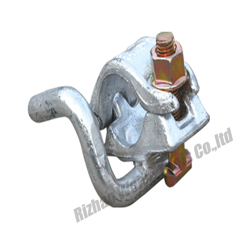 Half coupler with hook
