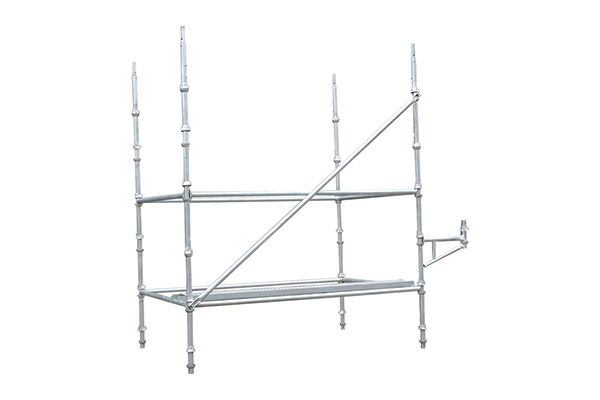 Hot galvanized cuplock scaffold